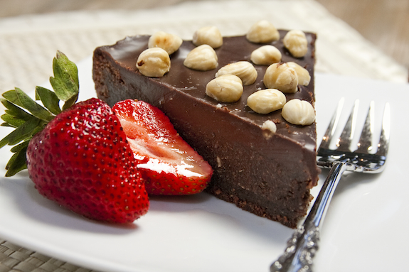 Nutella Cake with Chocolate Hazelnut Ganache for a Fond Farewell