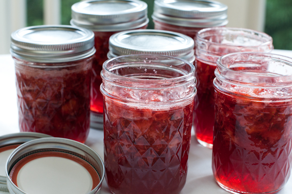 Fresh Strawberry Freezer Jam