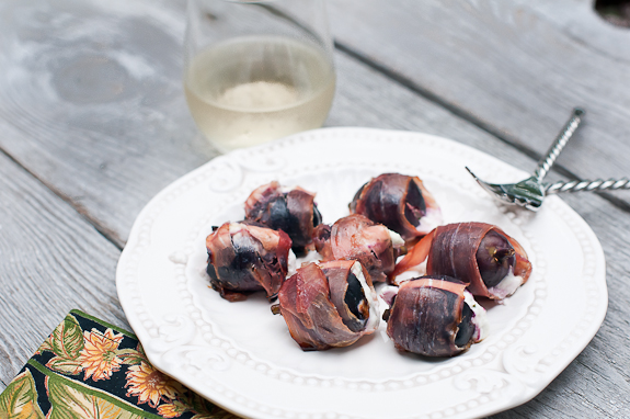 Rosemary Goat Cheese Stuffed Figs with Prosciutto and A Trip to Spinning Spider Creamery