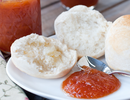 Peach Butter – The Daring Cooks Challenge
