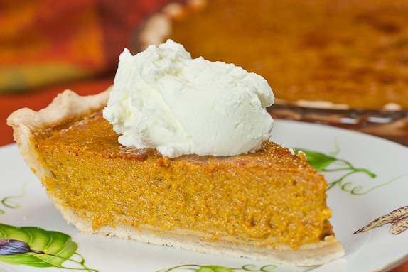 recipe blog, food blog, best recipes, Pumpkin Pie with Bourbon Whipped Cream