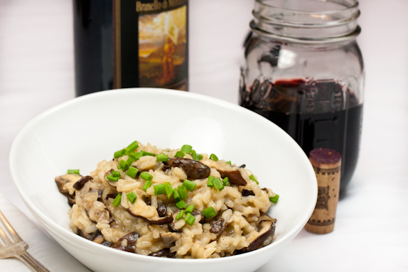Wild Mushroom Risotto and a Trip to Fred Treadway's Mushroom Farm in Madison County, North Carolina
