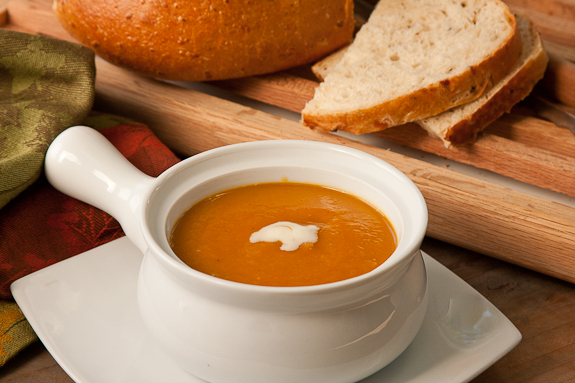 Spiced Squash, Fennel and Pear Soup from Around My French Table by Dorie Greenspan