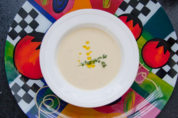 Cote d'Azur Cure-All Soup (Garlic Soup)