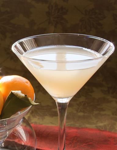 Meyer Lemon Drop Martini
