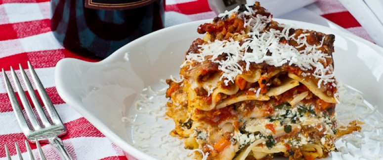 The Best Three-Cheese Lasagna Recipe – Pratesi Living