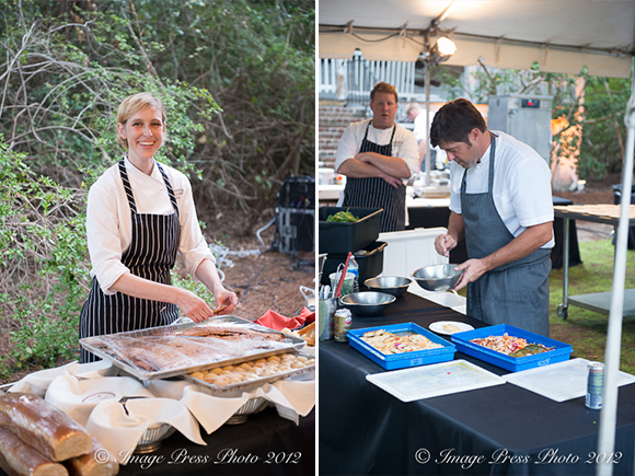Chefs Emily Cookson and Mike Lata