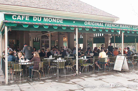 Cafe du Monde at the French Market