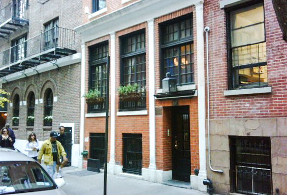 The James Beard House - NYC (photo from the internet)