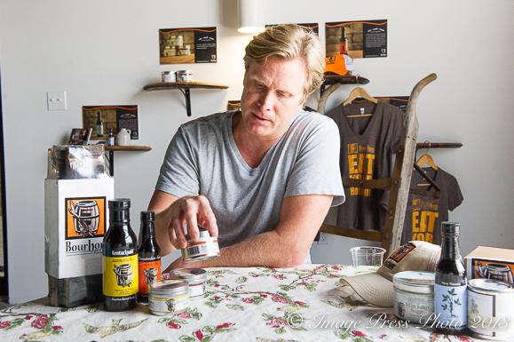 Matt Jamie of Bourbon Barrel Foods