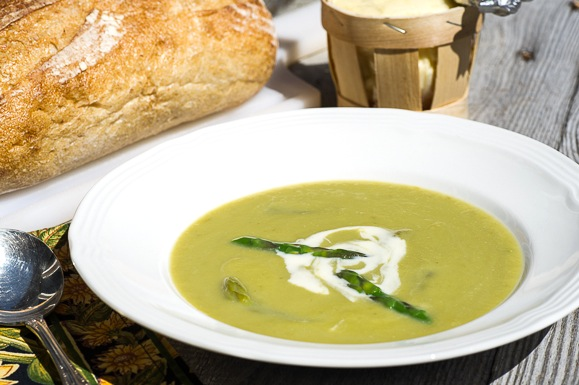 Fresh Asparagus Soup-3-2