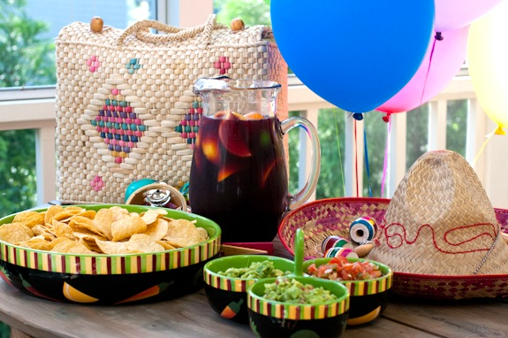 There's a secret ingredient in this Sangria and I'm not telling, so check out the recipe to see what it is. :-)