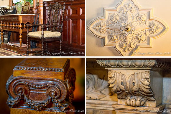 Beautiful hand carved woodwork