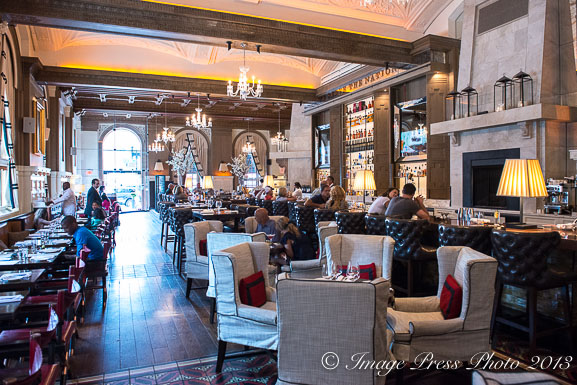The new Oak Bar & Kitchen at the Fairmont Copley Plaza