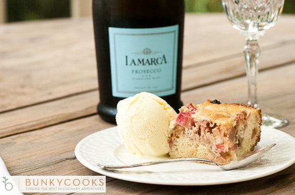 Add a glass of Proseco for a perfect summertime dessert celebration