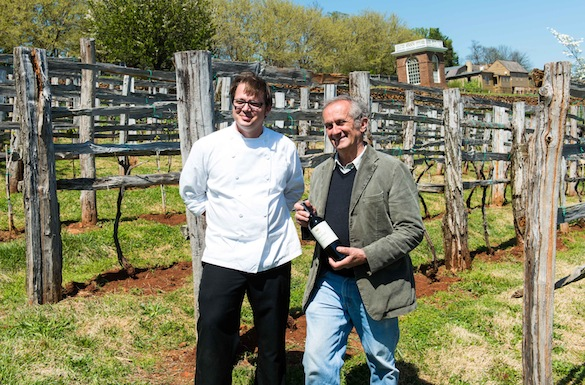 Chef Dean Maupin and Gabriele Rausse
