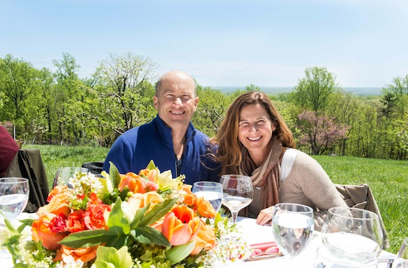 Our guests enjoyed the gorgeous day, excellent food, and lovely wines paired with lunch