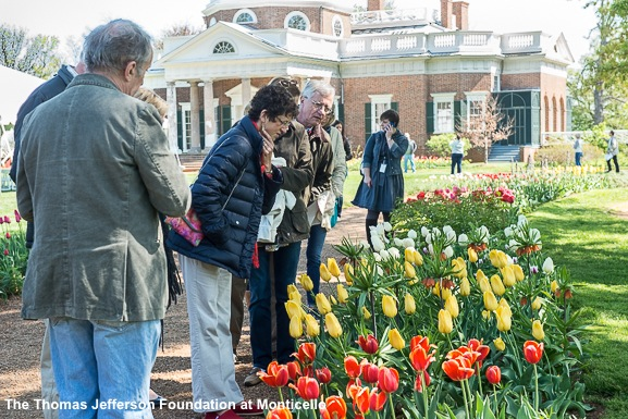 Touring the gardens with Gabriele Rausse