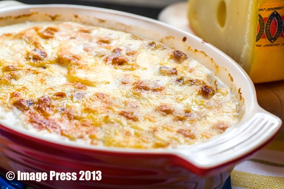 Rich and cheesy goodness