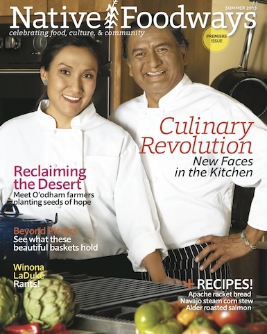 Premier issue of Native Foodways