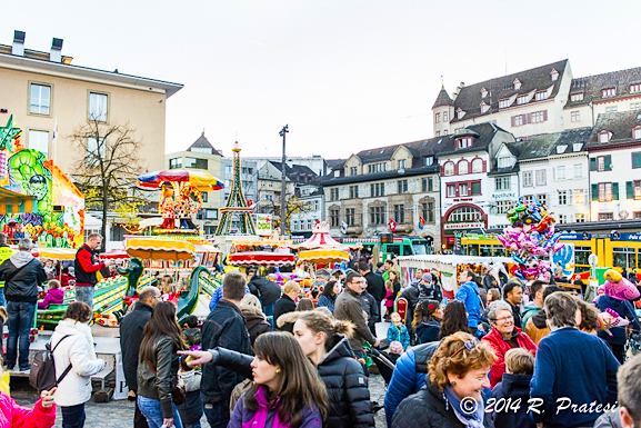 The Herbstmesse (Fall Festival) in Basel