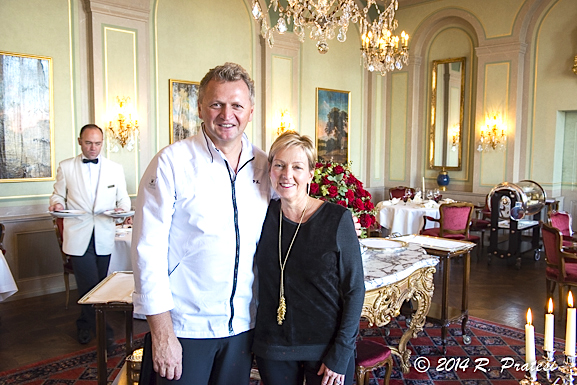 After lunch with Chef Peter Knogl