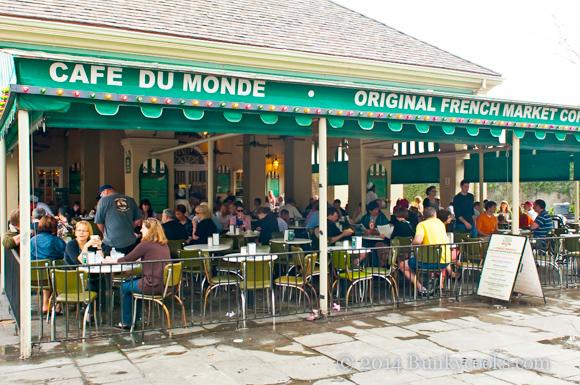 The original Café du Monde at The French Market