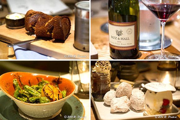Fun concepts, great food, and a nice bottle of wine