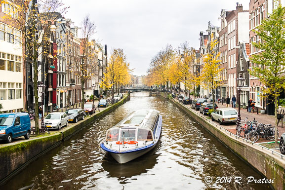 Take a canal tour through over 160 canals in the city