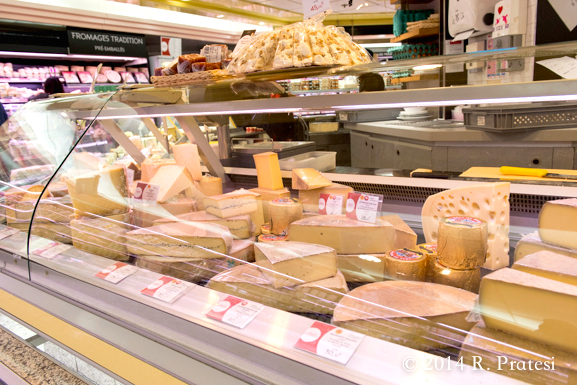 A wonderful selection of cheeses