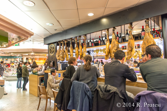 Lunch counters serving charcuterie plates and other offerings