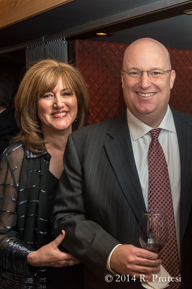 Nashville Wine Auction Board Member, JJ Seiters and her husband George