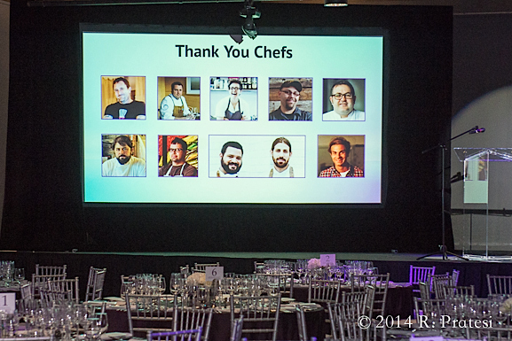 Thank you to the chefs and everyone who contributed to the event
