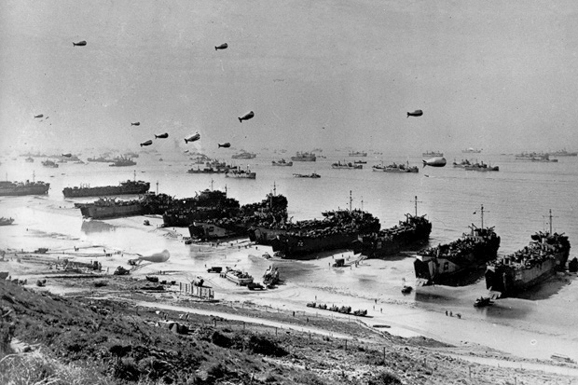 D-Day Landing - June 6, 1944