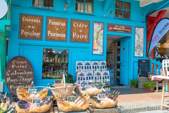 Many stores sell Calvados