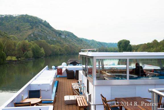 Cruising along The Seine River
