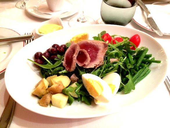 Salad Niçoise at Café Boulud - Taken with an iPhone