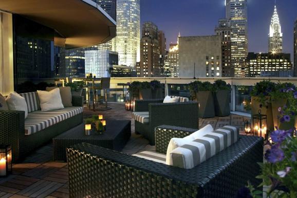 New York City And The Hotel Sofitel