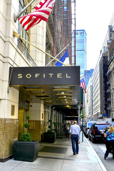 Hotel Sofitel New York is located in the heart of Midtown Manhattan