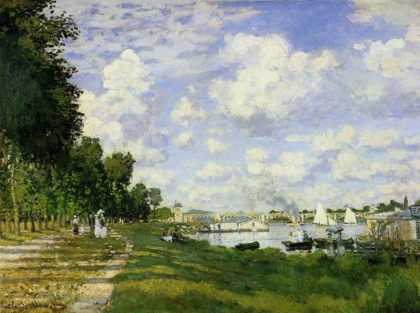 Argenteuil - One of Monet's landscape painting