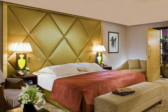 * One of the guestrooms