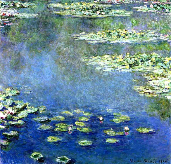 *Monet's Lilies