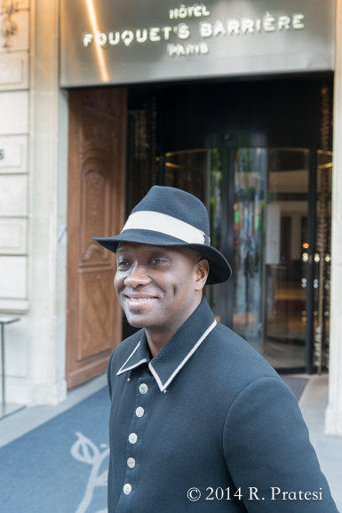 One of the bellman, Maurice