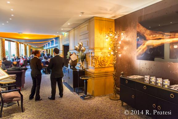 Entering Fouquet's