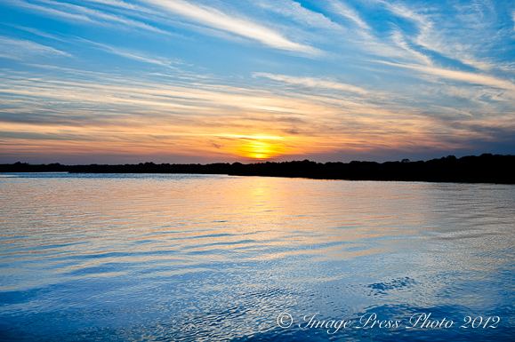 Sunset at Mingo Point