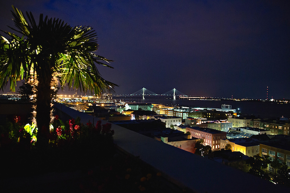 * Charleston at night