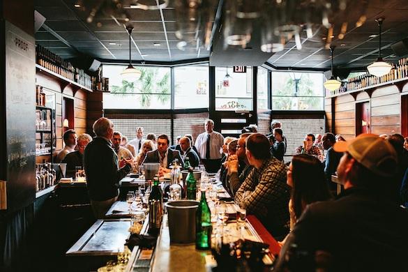 * PROOF Bourbon Event with Julian Van Winkle, III