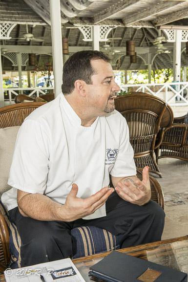 Chef Christophe Poupardin