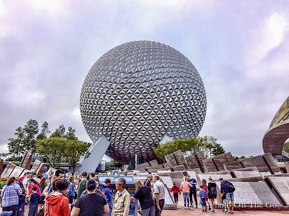 Spaceship Earth - My ride ride of the day
