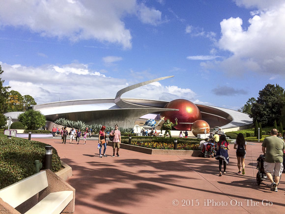 Tomorrowland at Epcot - More fun than Atlanta